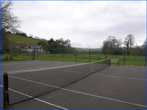 Hard Tennis Court