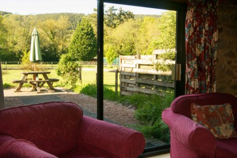 View from Exford Sitting Room