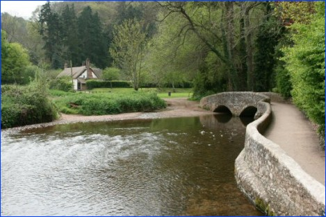 The Gallox Bridge, Dunster